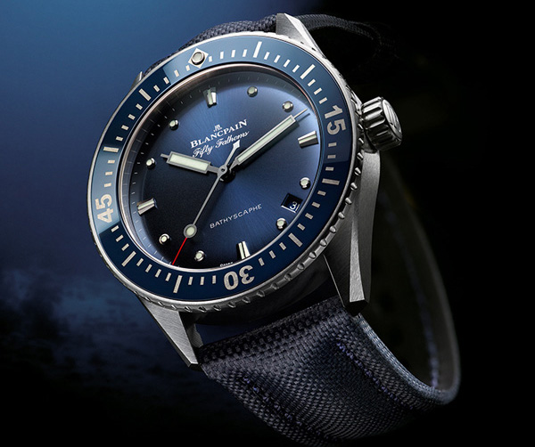 Blancpain - The Fifty Fathoms Bathyscaphe 38mm