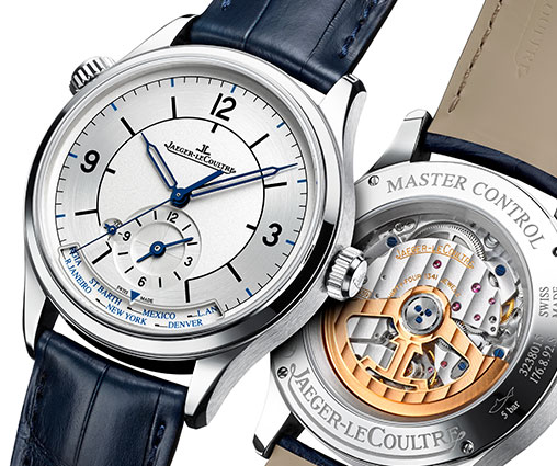 Jeager-LeCoultre - Celebrating 25 years of the Master Control line with three new pieces