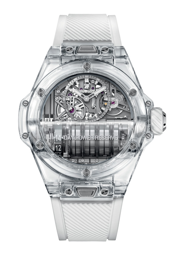 The Hublot Big Bang MP-11 Saphire