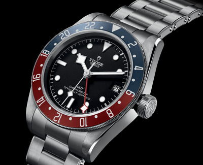 Tudor Presents—the Black Bay GMT